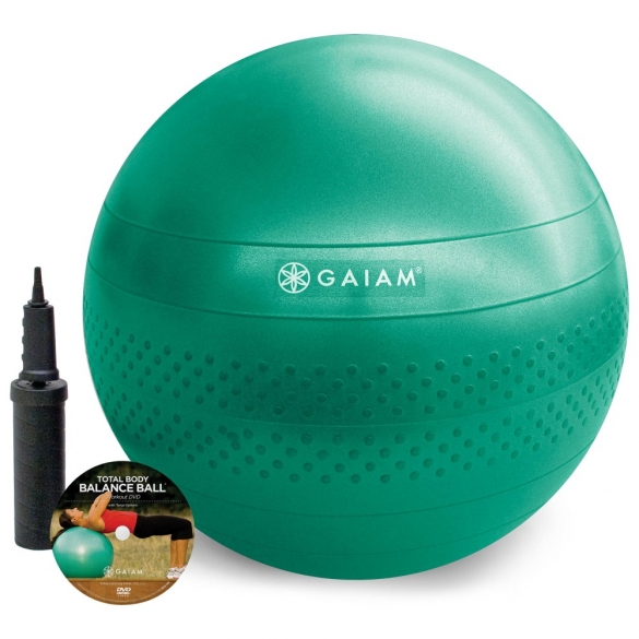 Gaiam Total balance gym ball kit (Medium - 65cm)  G05-51982