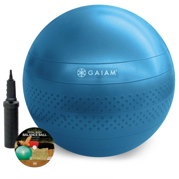 Gaiam Total balance gym ball kit (large - 75cm)  G05-52205