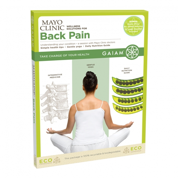Gaiam Mayo Clinic Back Pain (ENG)  G05-52383