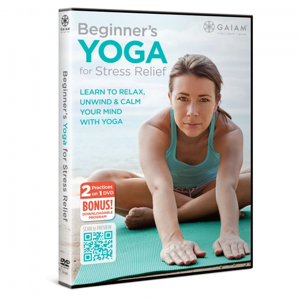 Gaiam Beginner's Yoga for Stress Relief (ENG)  G05-59242