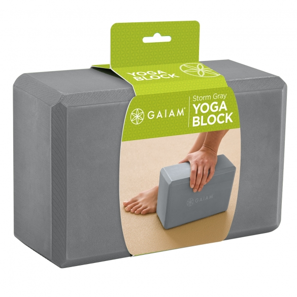 Gaiam Forest Storm Gray Yogablok  G05-61350