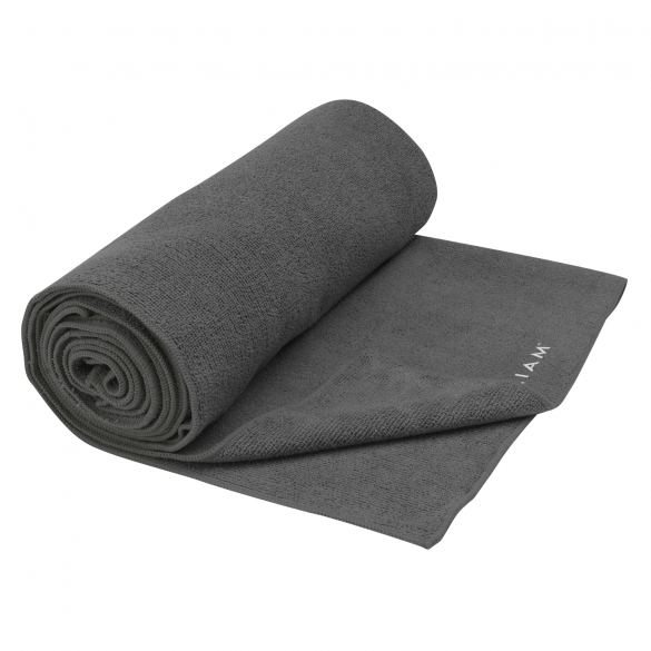 Gaiam Grippy Athletic yoga handoek Grijs  G05-61570