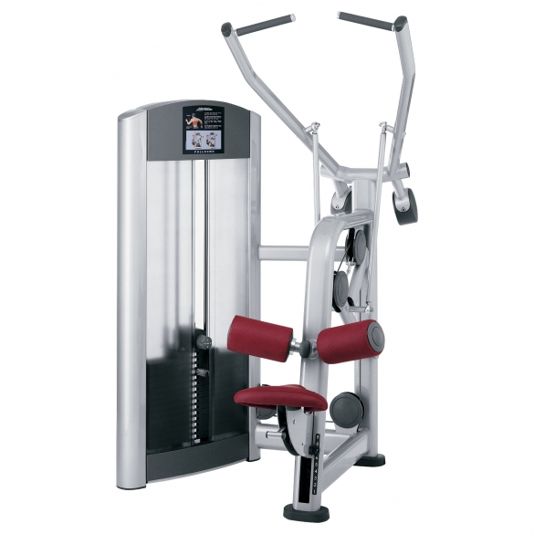 Life Fitness Signature Series Single Station Pulldown (FZPD) demo  LFSIGPULLDOWN