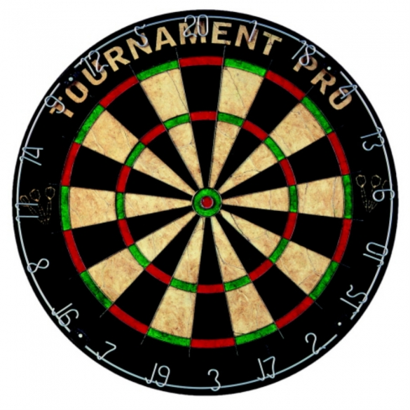 Tunturi Dartbord Bristle 'Tournament Pro' 14TUSGA035  14TUSGA035