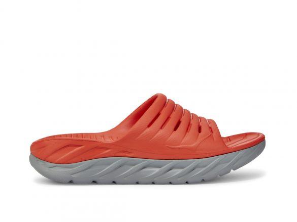 Hoka One One ORA Recovery Slide slippers rood heren  1099673-MRWDV