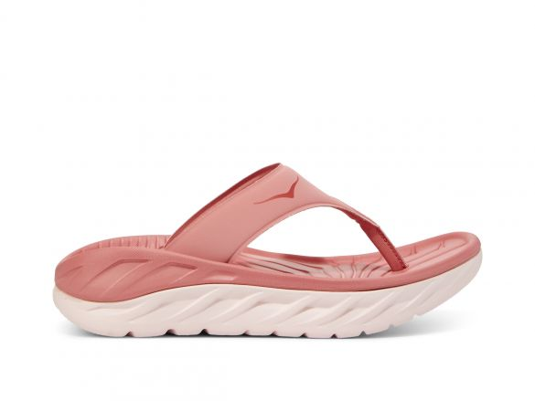 Hoka One One ORA Recovery Flip slippers roze dames  1099676-LPSL