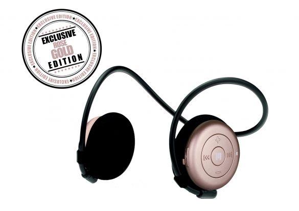 Miiego AL3+ Freedom draadloze bluetooth hoofdtelefoon woman rose gold  11041