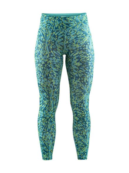 Craft Pulse tight galactic groen dames  1906083-119610