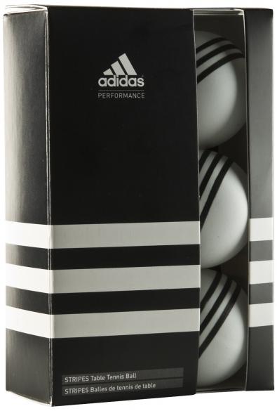 Adidas  Tafeltennisballen stripes (6 stuks)  7050.401