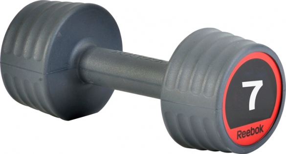 Reebok rubber dumbell 7.0 kg  7.207.147