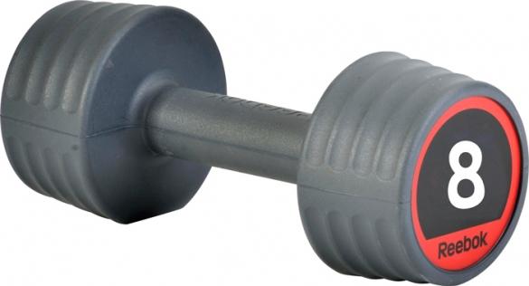 Reebok rubber dumbell 8.0 kg  7.207.148