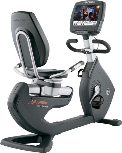 Life Fitness ligfiets 95R Engage gebruikt  BBLFRB95REN