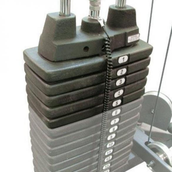 Life Fitness extra weight stack 23 kilogram  LFWEIGHTSTACK23