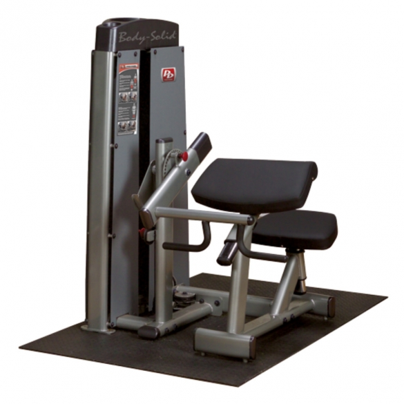 Body Solid Pro Dual Line Bicep en Tricep Machine (DBCTSF)  DBCTSF