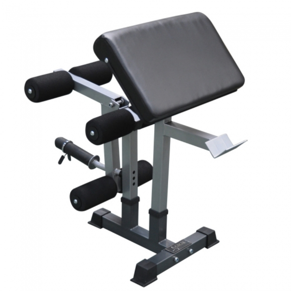 DKN Preacher Curl - Leg Extension 20681 attachment voor DKN Heavy Duty Bench  20681
