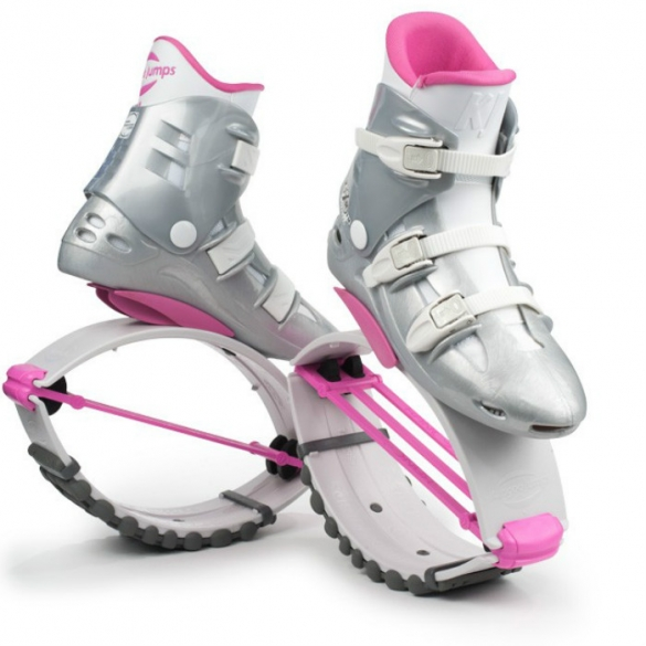 Kangoo Jumps XR3 White Edition wit roze  KJXR3WEWHITEPINK