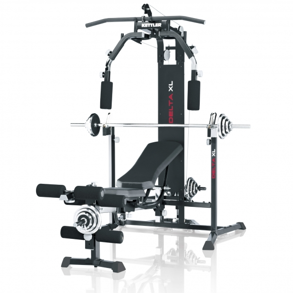 Kettler DELTA XL trainingsstation inclusief Curlpult  07707-755