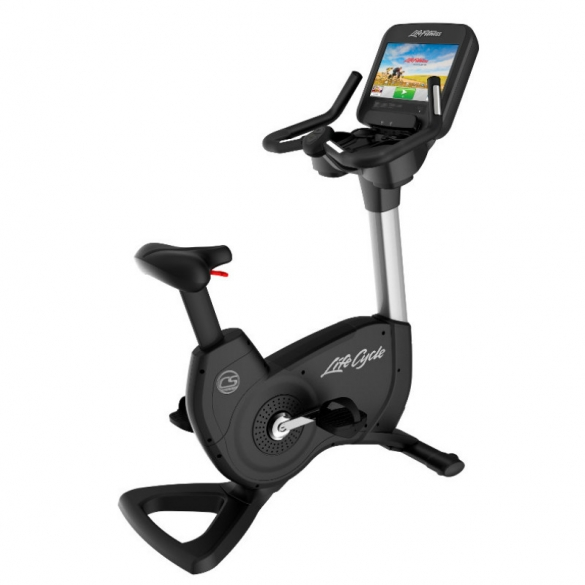 LifeFitness hometrainer Upright Bike Platinum Club Serie Discover SE WIFI PCSCE Gebruikt PCSCE