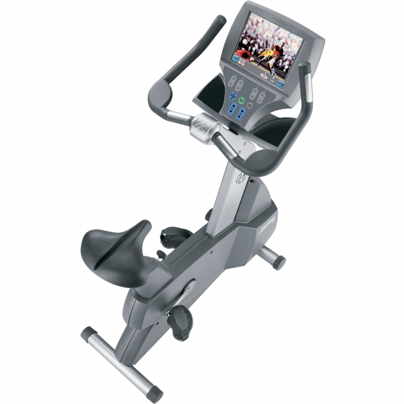 Life Fitness hometrainer 95CE Upright Cycle Gebruikt LIFEFITNESS95CE