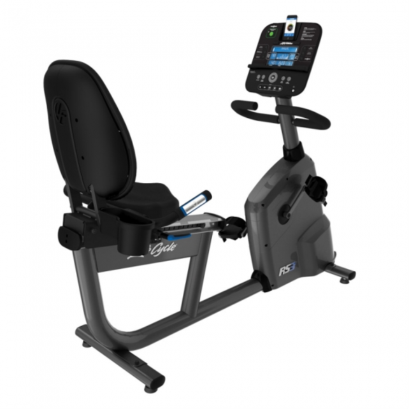 Life Fitness ligfiets RS3 recumbent LifeCycle Track+ console Nieuw LFRS3TRCKCONSOLE