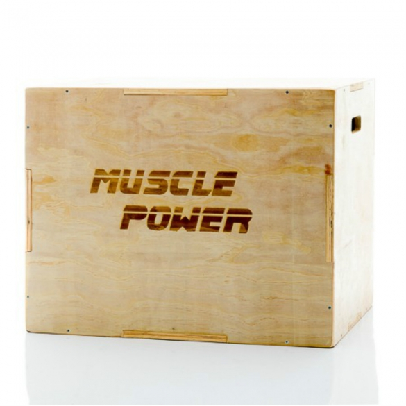 Muscle Power Houten Plyo Box MP1056  MP1056