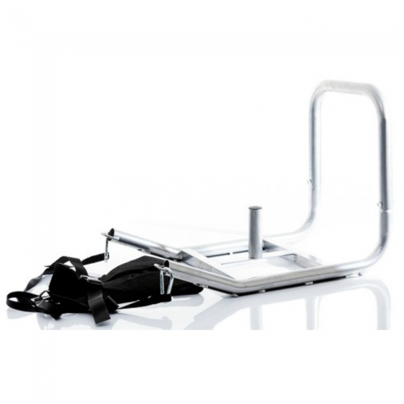 Muscle Power Power Sled Grijs Inclusief Harnas MP1093  MP1093