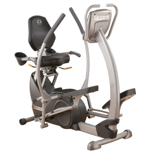 Octane Fitness ligfiets xR4ci xRide Deluxe Console with HR sensors  OCTxR4ci