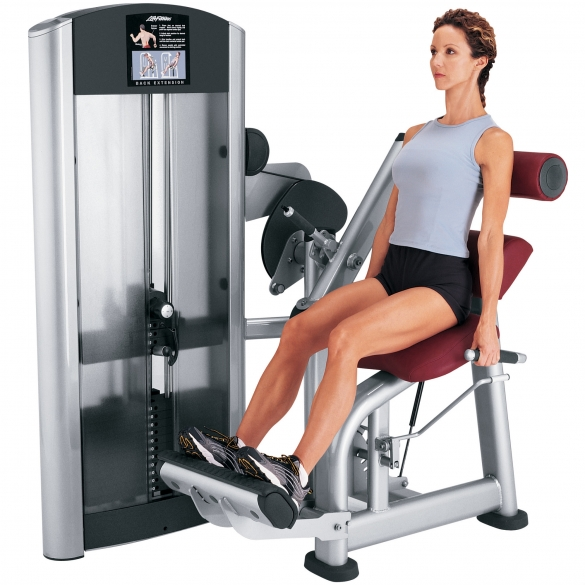 Life Fitness Signature Series Single Station Back Extension (FZBE)