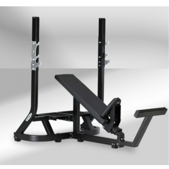 Technogym Olympic Inlcine Bench - Purestrength  TECHNOPG01