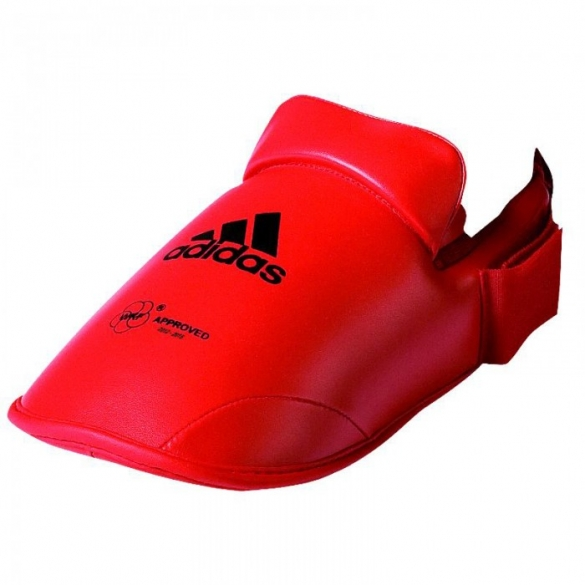 Adidas WFK voetbeschermer rood  ADI661.50R