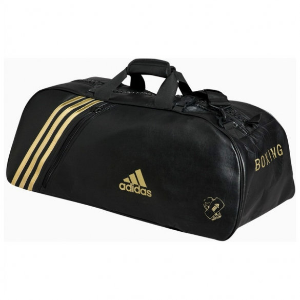 Adidas Super Sporttas zwart/goud Medium  ADIBAG02M