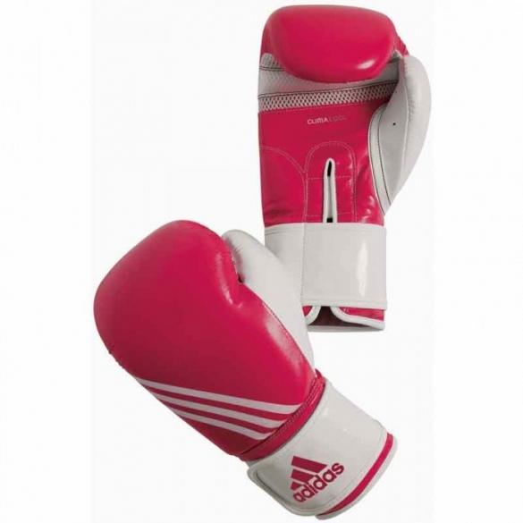 Adidas Fitness Bokshandschoenen Paars/wit  ADIBL05PW-size