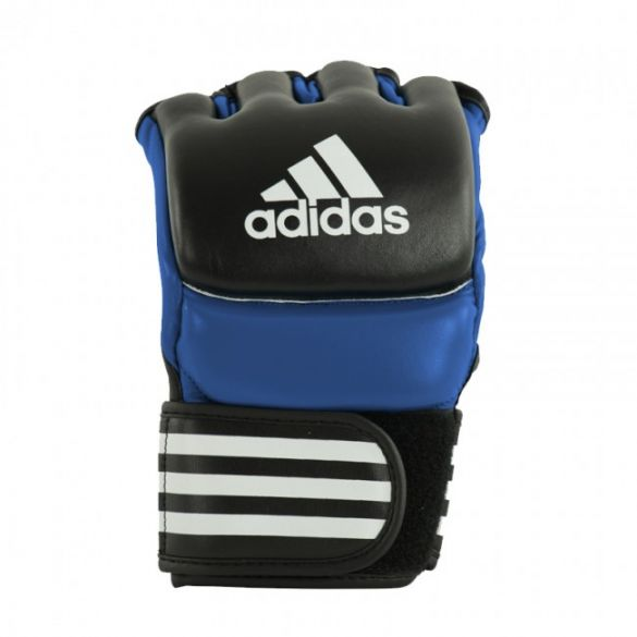 Adidas Ultimate MMA Handschoenen Zwart/blauw  ADICSG041-60900