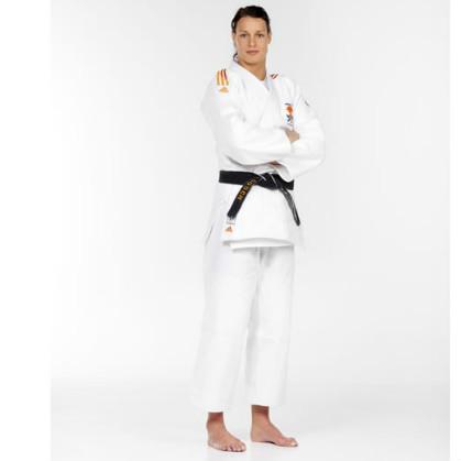 792db450fd0 Adidas judopak J650 wit limited edition kopen? Bestel bij fitness24.nl