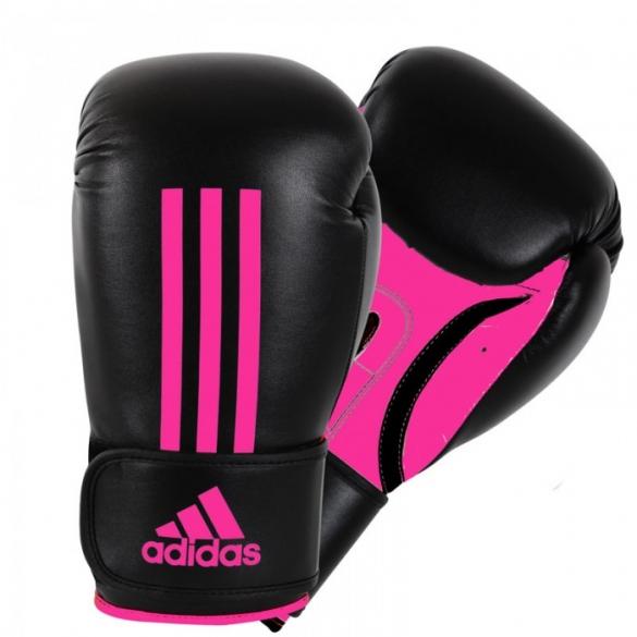 Adidas Energy 100 bokshandschoenen zwart/roze  ADIEBG100P