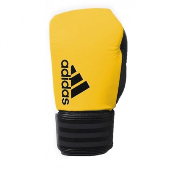Adidas Hybrid 200 (kick)bokshandschoenen geel/zwart  ADIH200GZ