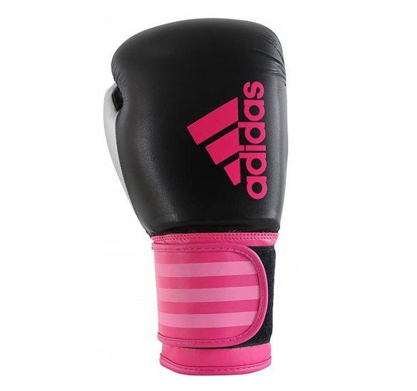 d774022066f Adidas Hybrid 100 Dynamic Fit (kick)bokshandschoenen zwart/roze ADIHDF100ZP