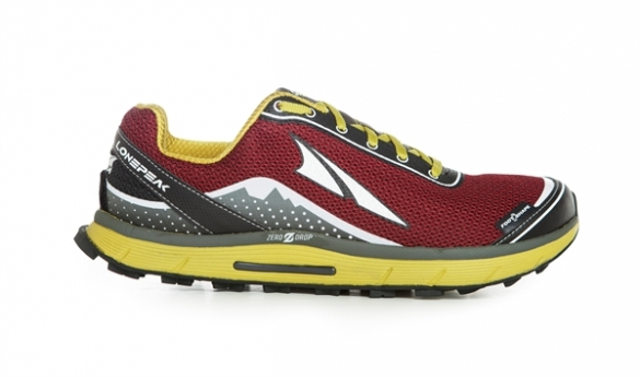 Altra The Lone Peak 2.5 Trail Hardloopschoenen rio red Heren  00622210