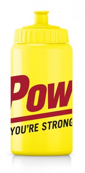 Powerbar Bidon 500 ml geel  PBBIDON500geel