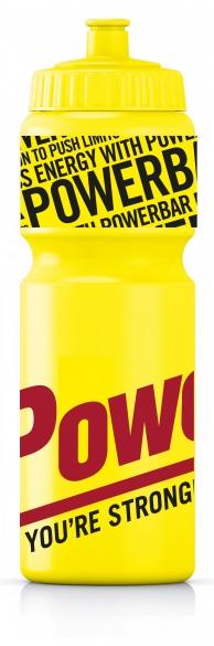 Powerbar Bidon 750 ml geel  pb750geel