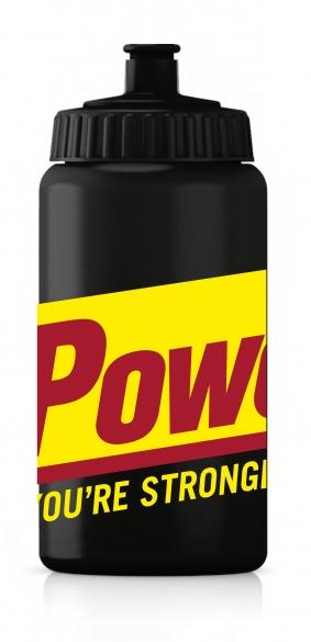 Powerbar Bidon 500 ml zwart  PBbidon500zwart