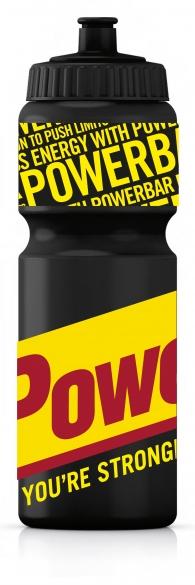 Powerbar Bidon 750 ml zwart  pb750zwart