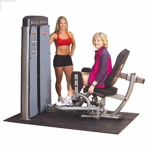 Body Solid Pro Dual Line Inner en Outer Thigh Machine (DIOTSF)  DIOTSF