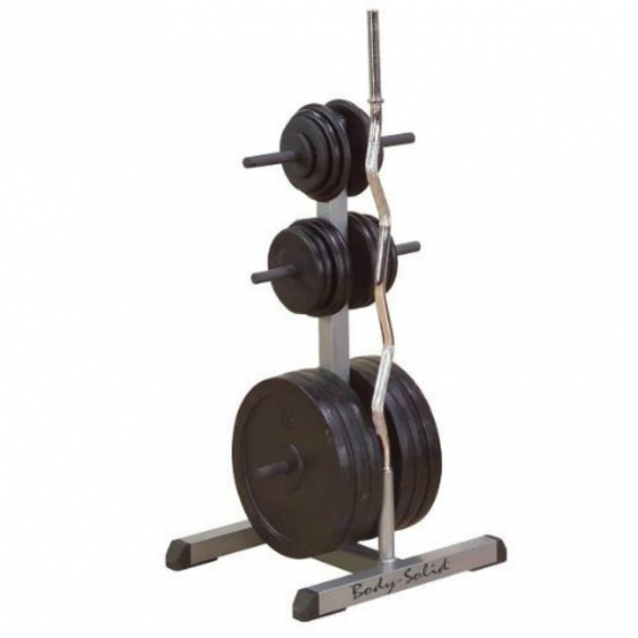 Body Solid Standaard weight tree and bar rack (GSWT)  GSWT