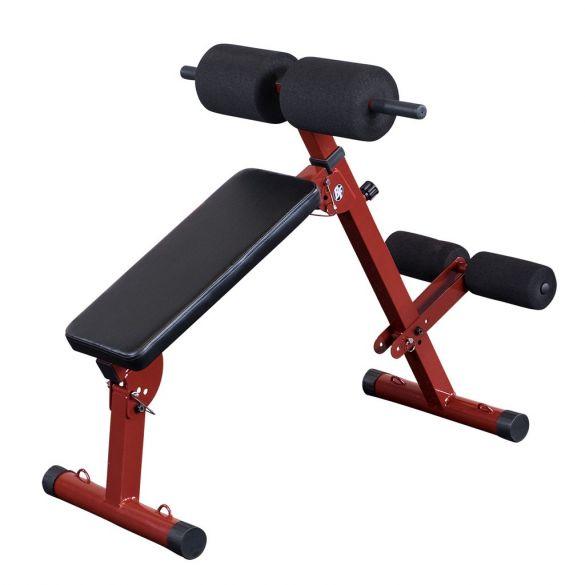 Body-Solid Best fitness Ab board hyperextension buik- en rugtrainer  KBFHYP10