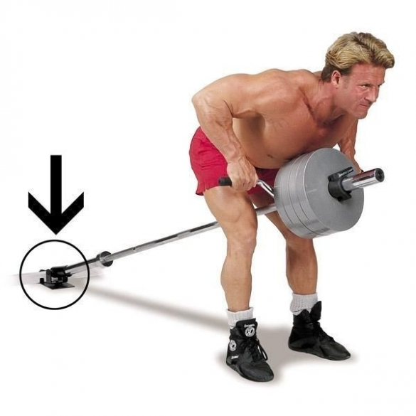 Body Solid T-Bar Row Platform inclusief Lat Blaster Bar  LBB28-TBR10