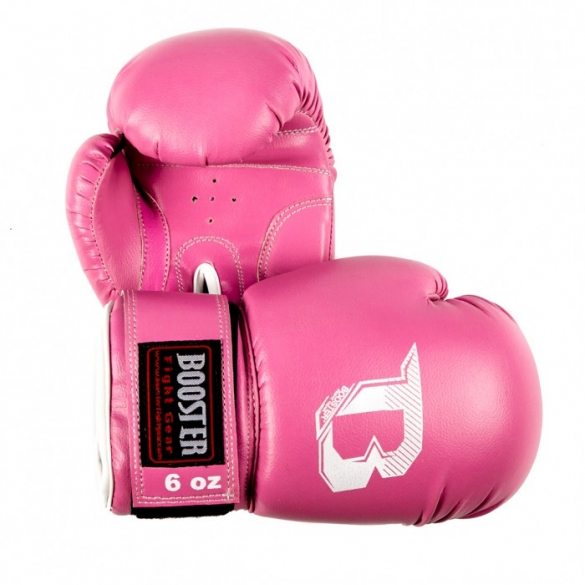Booster BT Kids bokshandschoenen roze  BTKIDSROZE