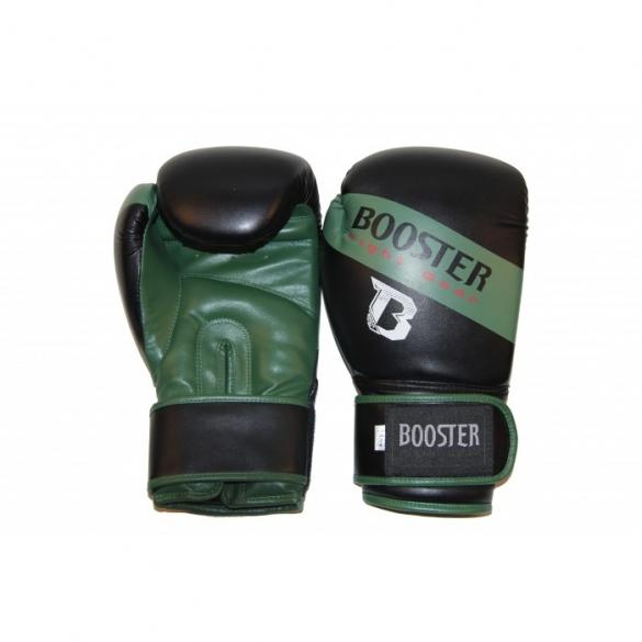 Booster BT Sparring bokshandschoenen zwart/groen  BTSPARRINGARMY