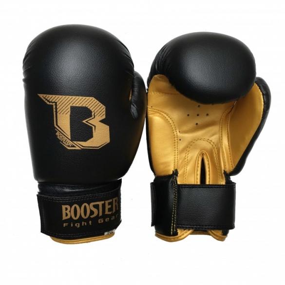 Booster Kids DUO bokshandschoenen zwart/goud  BTKIDSDUOZG