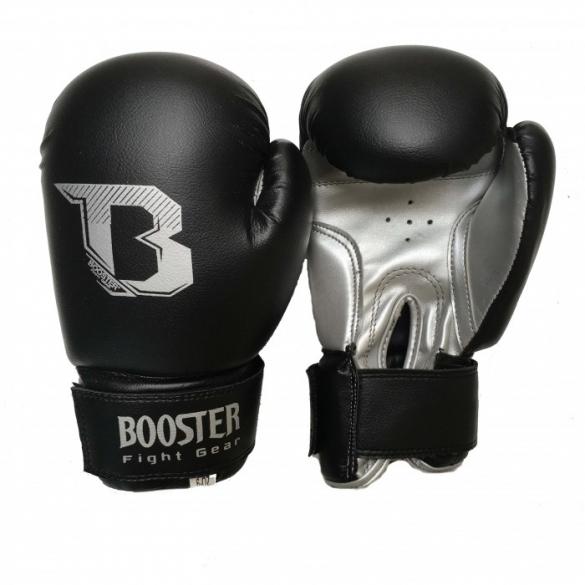 Booster Kids DUO bokshandschoenen zwart/zilver  BTKIDSDUOZZ